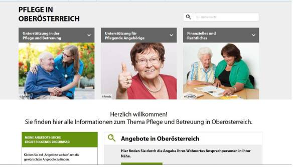 pflegeinfo-ooe.at