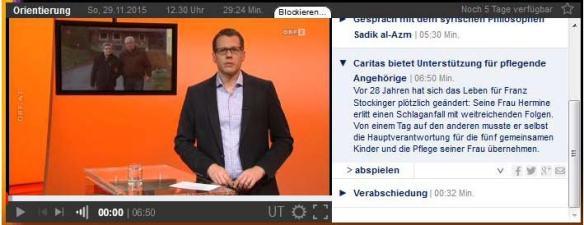 ORF-Beitrag