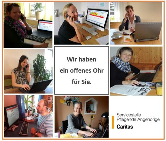 Fotokollage Homeoffice_Caritas